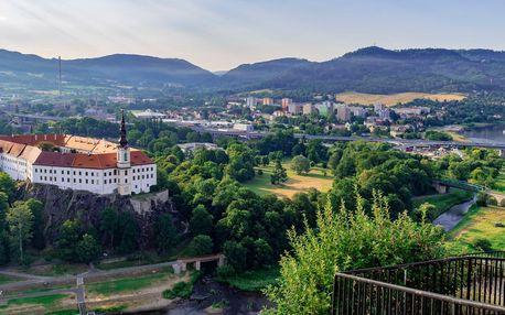Pohoda v Děčíně pro pár či rodinu: jídlo i zábava