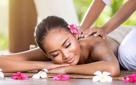 60–90minutová thajská masáž podle výběru