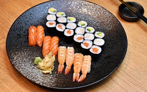 Maki Lover: 24 ks sushi4