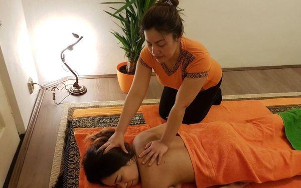 60min. thajská masáž dle výběru5