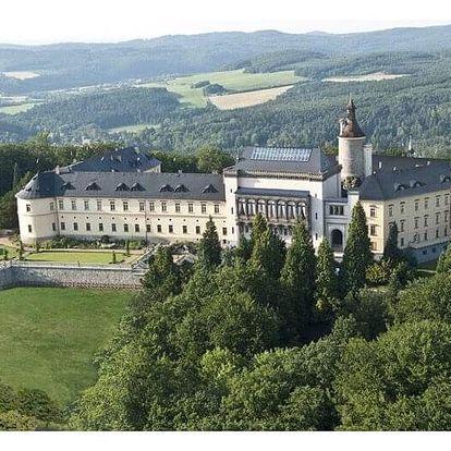 Ubytování s dětmi na zámku Zbiroh