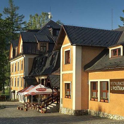 Česká republika, Jeseníky, vlastní dopravou na 3 dny polopenze