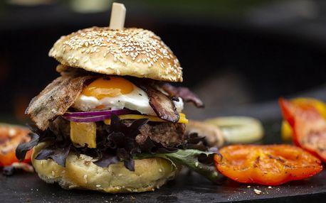 Na venkovním grilu: večeře nebo all you can eat