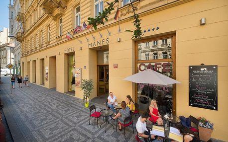 Praha na 4-5 dnů, snídaně v ceně