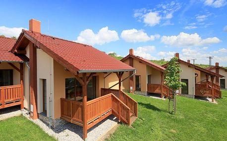 Akční cena 10 500 Kč na ubytování v bungalovu na 6 nocí ve Žluticích