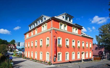 Liberec na 4-8 dnů, snídaně v ceně