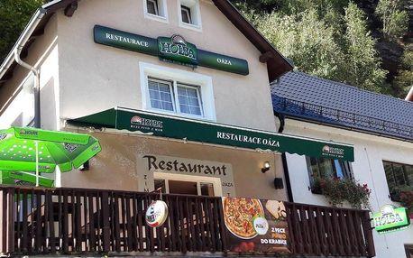 Národní park České Švýcarsko: Restaurace a Penzion Oáza