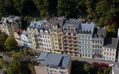 Karlovy Vary na 3-9 dnů, snídaně v ceně