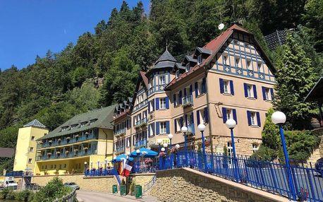 Národní park České Švýcarsko: Hotel Praha