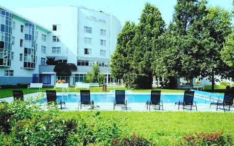 Hotel Jana**** v Přerově s neomezeným wellness, snídaní nebo polopenzí