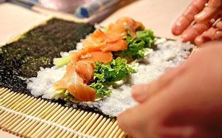 Zážitkový kurz přípravy sushi 2: 13. června v Praze - netradiční druhy sushi