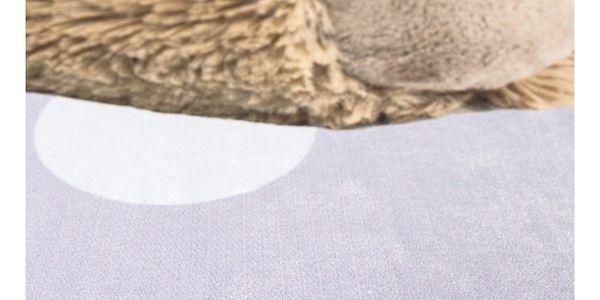Vopi Dětský koberec Ultra Soft Medvídek růžová4