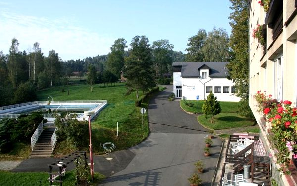 Hotel Bellevue, České Švýcarsko, vlastní doprava, polopenze4