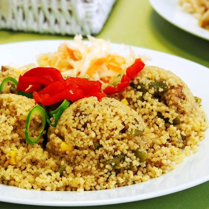 100 Kč na denní menu ve vegetariánské jídelně