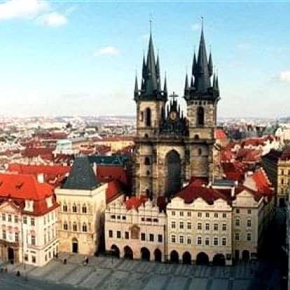 Praha na 3-8 dnů, snídaně v ceně