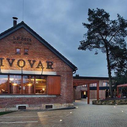 Hradec Králové: Pivovar Lindr Mžany s pivními lázněmi