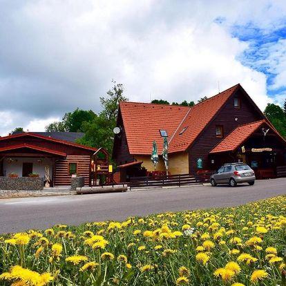 Orlické hory: Chata pod sjezdovkou