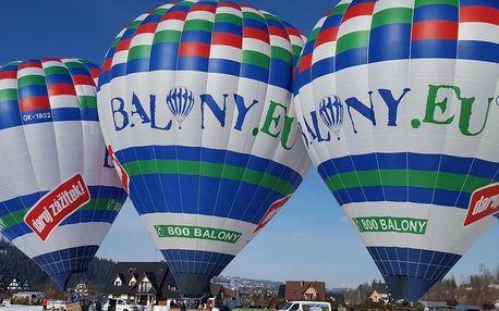 Vyhlídkový let balónem nad Tatrami
