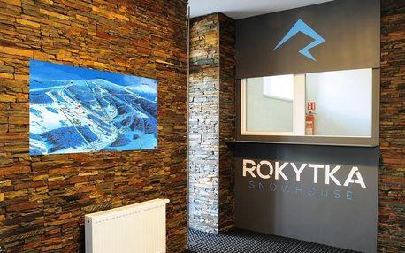 Třídenní dovolená v apartmánech Rokytka Snowhouse v Rokytnici nad Jizerou