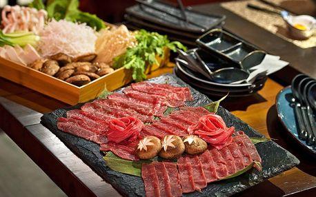 Japonské menu připravené přímo na vašem stole