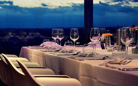 Žižkovská věž - degustační menu s víny