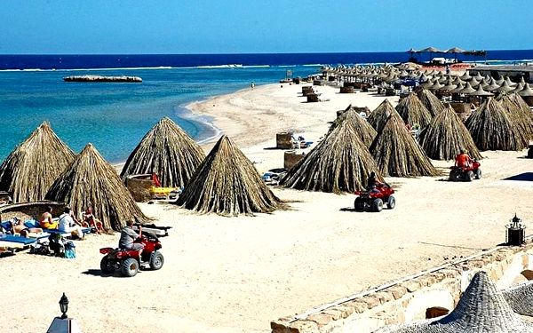 PENSEE BEACH RESORT, Marsa Alam, letecky, all inclusive2