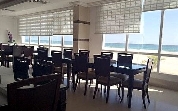 Beach Resort Salalah, Omán, letecky, polopenze4