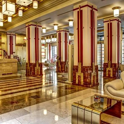 Praha: Hotel Majestic Plaza s pivními lázněmi