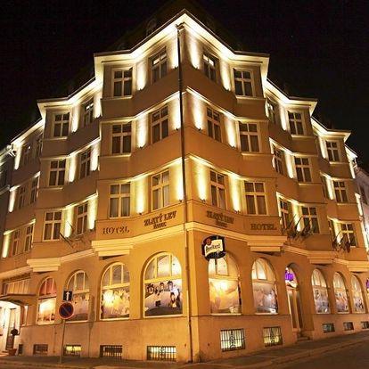 České středohoří: Hotel Zlatý lev