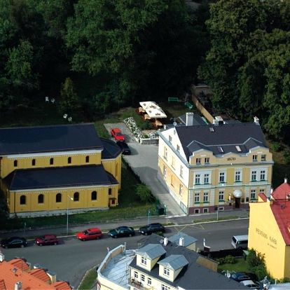 Františkovy Lázně, Karlovarský kraj: Pension Abbazia