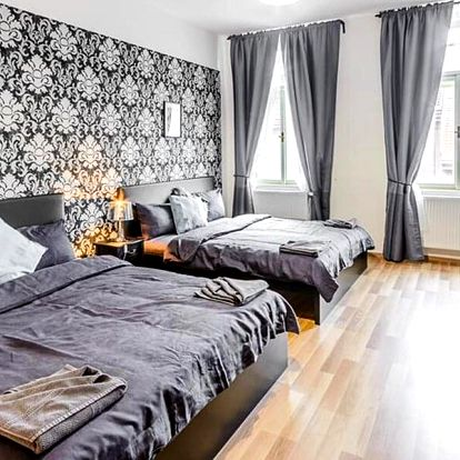 Apartmány u Vltavy až pro 7 osob včetně jídla