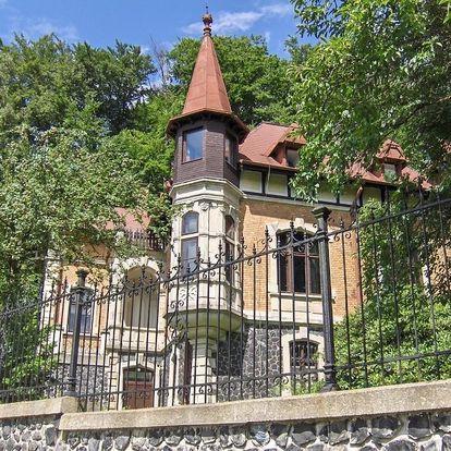 Národní park České Švýcarsko: Romantic Chateau Krasna Lipa