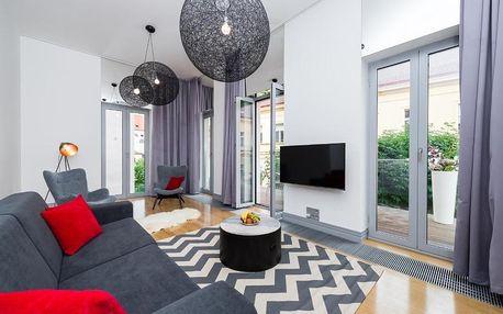 Sedm pater, osm unikátních a moderně vybavených apartmánů