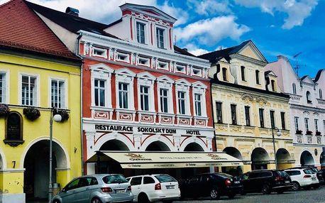 Domažlice, Plzeňský kraj: Hotel Sokolský Dům