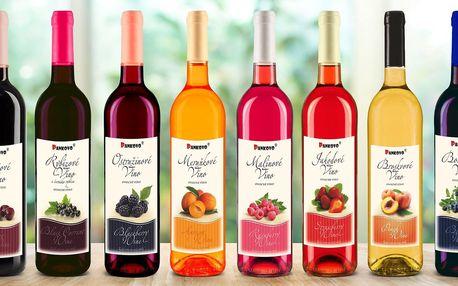 Osvěžující ovocná vína z českého Pankova vinářství
