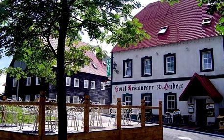 Krušné hory: Hotel Svatý Hubert