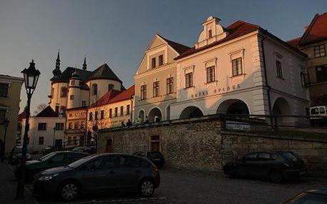 Tři historické budovy s moderním designem, luxusním ubytováním a kvalitní gastronomií