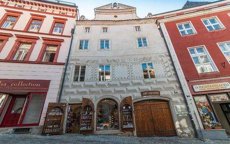 Nevšední ubytování v památkové rezervace UNESCO v Českém Krumlově