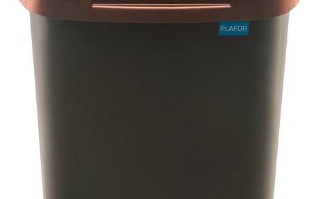 Aldo Odpadkový koš FALA 30 l, černá/zlatá