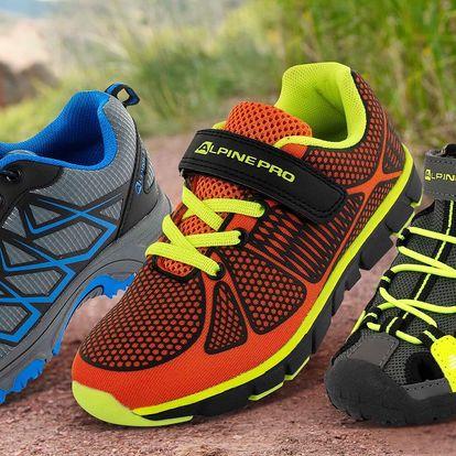Dětské sportovní boty Alpine Pro: 3 varianty