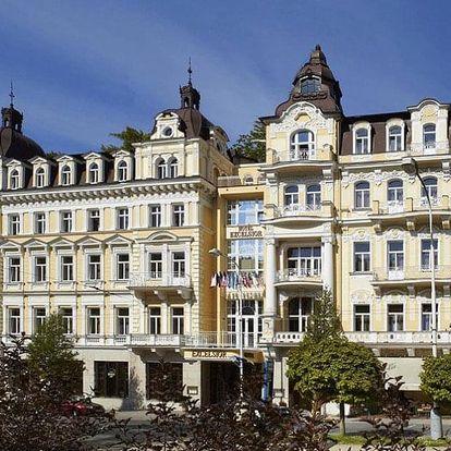 Česká republika, Mariánské Lázně, vlastní dopravou na 4 dny polopenze