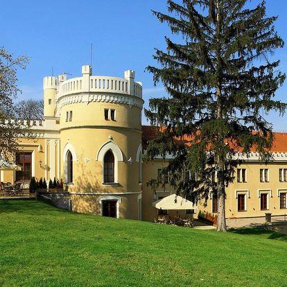Romantika v Chateau St. Havel: snídaně i wellness