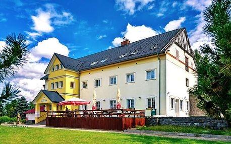 Relaxační pobyt na Vysočině v Hotelu Žákova Hora *** s privátní vířivkou, saunou, fitness a polopenzí