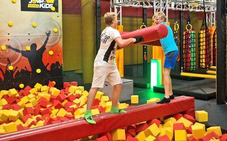 Jump and kids aréna plná atrakcí pro malé i velké