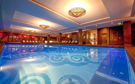 Budapešť v oceněném Hotelu Stáció **** s neomezeným dvoupatrovým wellness o rozloze 1 000 m² + polopenze