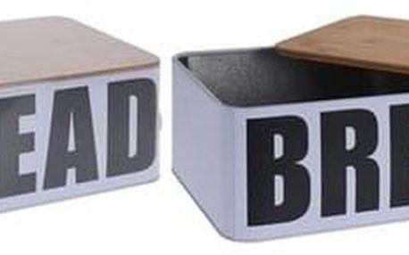Chlebník s bambusovým víkem Bread