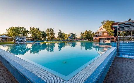 Léto v Dunajské Stredě: Apartmány Termál *** propojené s termálními lázněmi s celodenním vstupem + snídaně