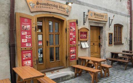 Český Krumlov: Hotel Svambersky dum