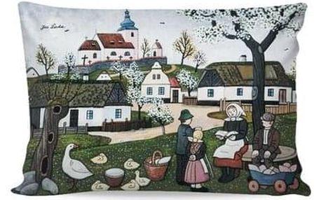 Matějovský Povlak na polštářek Deluxe Josef Lada Jaro, 33 x 50 cm