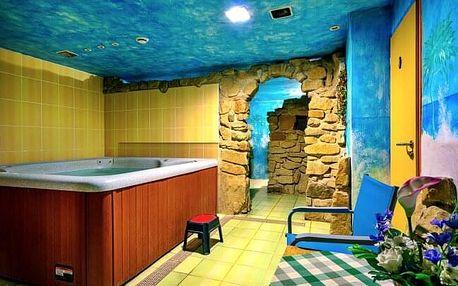Relax na Vysočině v Hotelu Žákova Hora *** s privátní vířivkou, fitness, úschovnou kol a polopenzí
